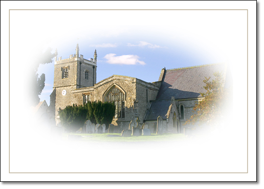 A photograph of Church vignette